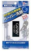 Gatsby MANDOM Facial Paper Ice Type 15 Sheets, 0.5 Pound