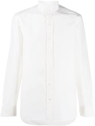 Tom Ford Band Collar Shirt
