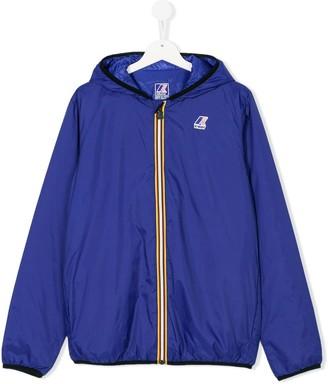 K Way Kids TEEN hooded jacket