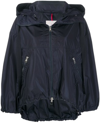 Moncler Balloon-Sleeved Hooded Jacket