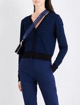 Diane von Furstenberg Striped knitted cardigan