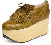 Vivienne Westwood Brown Rocking Horse Golf Shoes Size 3