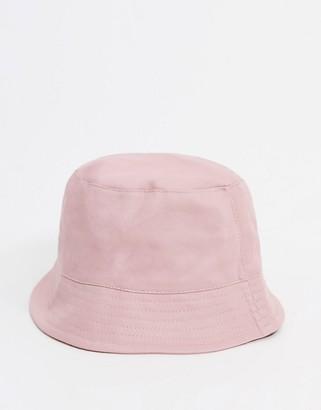 ASOS DESIGN bucket hat in dusty pink