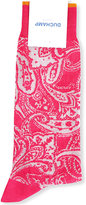 Duchamp Paisley-patterned cotton-blend socks