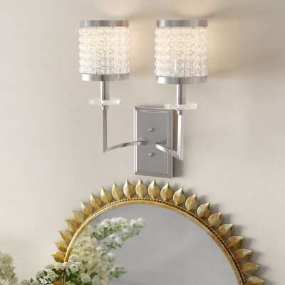 Willa Arlo Interiors Elita 1 Light Bath Sconce Finish Aged Brass Shopstyle