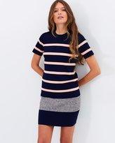 Whistles Stripe Tee Dress