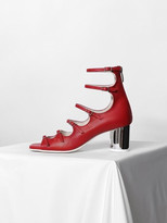 Strap Middle Heel Red