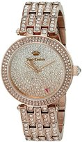 Juicy Couture Women's 1901377 Cali Analog Display Japanese Quartz Rose Gold-Tone Watch