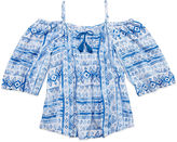 Arizona Off Shoulder Woven Top - Girls 7-16 and Plus