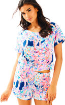 Lilly Pulitzer Dossie Top and Short Set