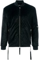 Blood Brother 'Zapp' bomber jacket - men - Cotton/Cupro/Velvet - M