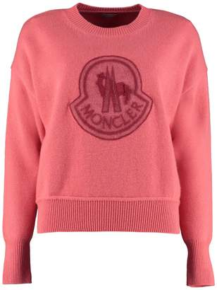 Moncler Virgin Wool And Cashmere Pullover