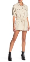 Honey Punch Safari Drawstring Romper