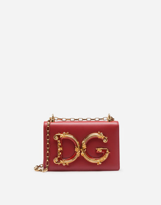 Dolce & Gabbana Nappa Leather Girls Bag