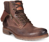 Alfani Men's Isaac Double Zip Boots, Only at Macy's