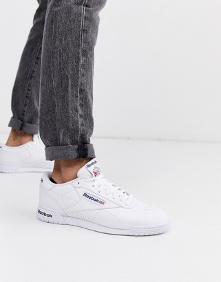 Reebok Ex-o-fit leather trainers in white