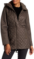French Connection Hooded Quilted Jacket