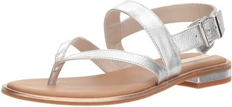 Kenneth Cole New York Women's Tama Flat Thong Sandal with Backstrap