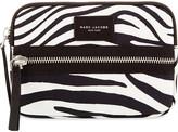 Marc Jacobs Zebra-print biker mini tablet case