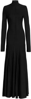 Bottega Veneta Knit Turtleneck Gown