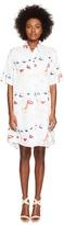 Jeremy Scott Doll Face Collared Dress Women's Dress