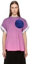 3.1 Phillip Lim Purple Twisted Sunset T-Shirt