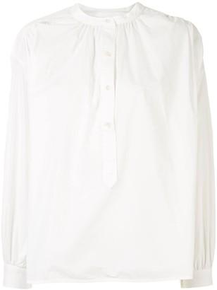 Anine Bing Eden puff sleeves shirt