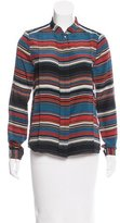 DAY Birger et Mikkelsen Silk Geometric Top w/ Tags