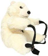 Dolce & Gabbana Polar Bear Shaped Plush Backpack