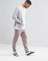 Asos Skinny Joggers In Pink