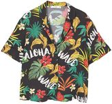 MANGO Tropical print shirt