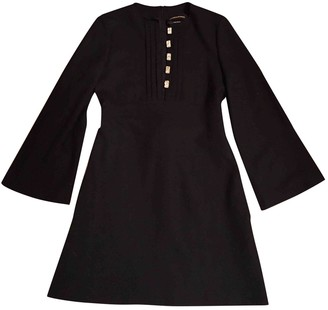 Vanessa Seward Black Wool Dresses
