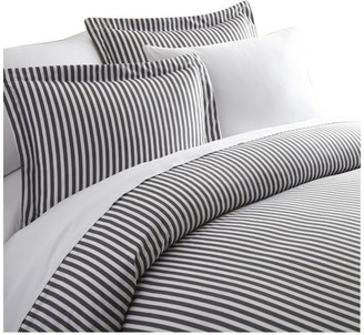 IENJOY HOME Becky Cameron Premium 3 Piece Ribbon Printed Duvet Cover Set, Queen, G
