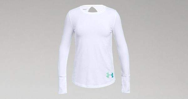 Under Armour Girls UA Finale Long Sleeve
