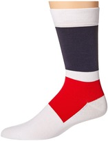 Lacoste Color Blocked Sock Men's Crew Cut Socks Shoes