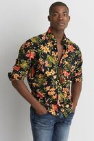 American Eagle Outfitters AE Print Poplin Shirt