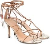 Isabel Marant Askee embellished suede sandals