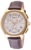 Salvatore Ferragamo Lungarno Chrono Stainless Steel Watch