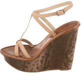 Elizabeth and James Platform Multistrap Wedges