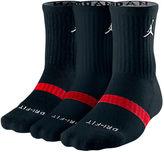 Nike Jordan Dri-FIT 3-Pack Crew Socks
