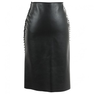 Dion Lee Black Leather Skirts