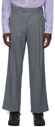 Martin Asbjorn Grey Wool Trupo Trousers