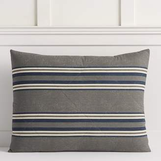 Pottery Barn Teen Eton Stripe Comforter, Twin/Twin XL, Gray