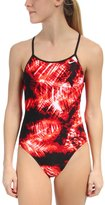 Nike Swim Solar Canopy Modern Lingerie Tank One Piece Swimsuit 48179