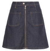 AG Jeans Becca Denim Skirt