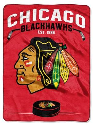 Northwest Company The NHL Chicago Blackhawks Inspired Raschel Throw