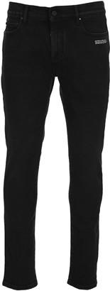Off-White Off White Diag Pocket Skinny Jeans