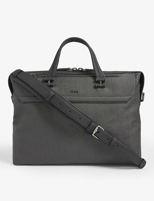 Tumi Gates slim canvas briefcase