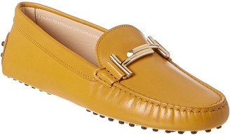 Tod's TodS Double T Gommino Leather Loafer