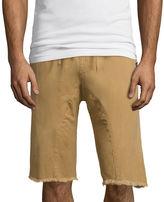 Akademiks Sureshot Flat-Front Twill Shorts